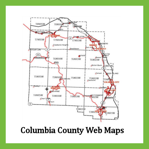 Columbia County Web Map